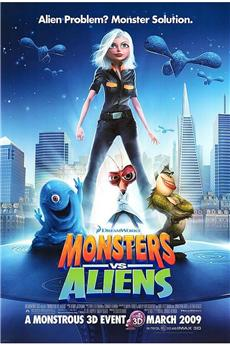 Monsters vs Aliens (2009) 3D download