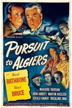 Pursuit to Algiers (1945) download